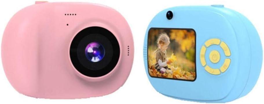 Neue Cartoon Mini Kinderkamera Smart Digital SLR Kamera HD-Bildschirm klein und EIN-klick-Shooting Cartoon Lernspielzeug Pink Blue