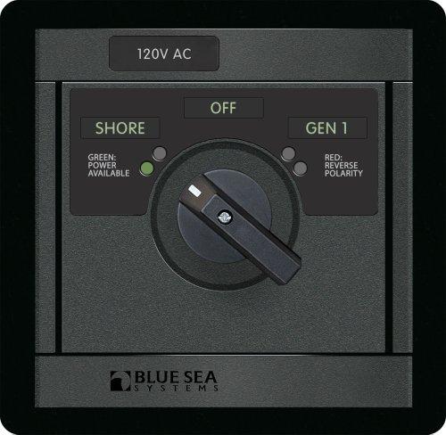 120V AC Rotary 30A OFF + 2 Sources