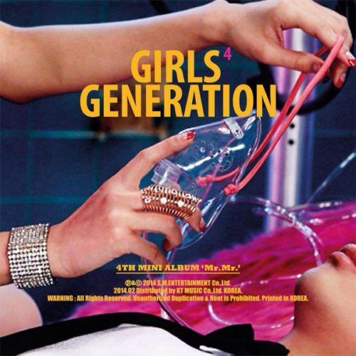 SNSD GIRLS' GENERATION [MR.MR.] 4th Mini Album CD+Photobook+Sticker+Tracking Number K-POP SEALED