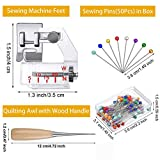Bias Tape Maker Tool Kit Set, Sewing Fabric Bias
