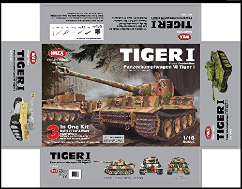 - Taigen Early Tiger 1/16th Scale Kit 12501