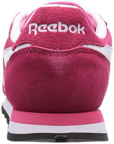 Femme Reebok Classic Pink Leather Suede Rose Chaussons Sneaker qXafzXw