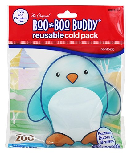 Boo Boo Buddy - Reusable Cold Pack Zoo Designs Penguin ()