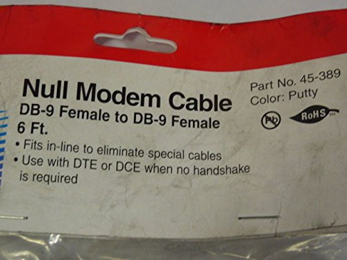 GC 45-389 Female Modem Cable DB-9