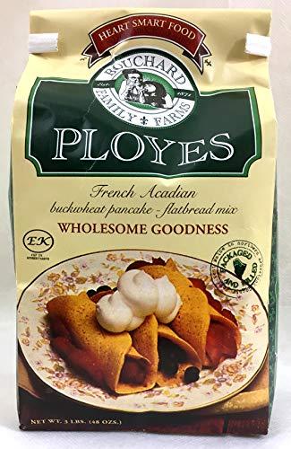 Ployes - French Acadian Buckwheat Pancake - Flatbread Mix, Large 3 Pound Bag
