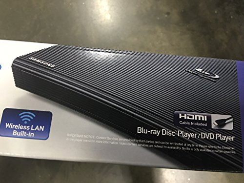 Best of Samsung Full 1080p Smart Blu-Ray Player with Built-In Wi-Fi Movie Streaming-HDMI Cable Included
