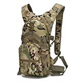 low profile climbing helmet - Hunting Climbing Running and Hiking Waterproof Travel bag Rucksack Daypack Knapsack Black Slim Backpack (CP camouflage)