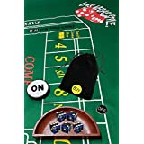 Cyber-Deals Craps Starter Kit Sets, Featuring Authentic Las Vegas Casino Table-Played Dice