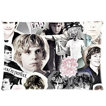 generic-evan-peters-collage-custom-zippered-pillow-cases-20x30-two-sides