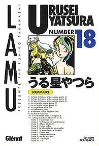 Urusei Yatsura - Lamu, tome 18 par Rumiko Takahashi
