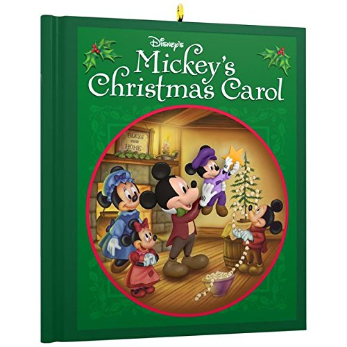 Hallmark Keepsake 2017 - Disney Mickey Mouse Mickeys Christmas Carol Ornament