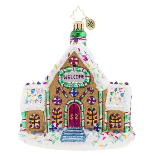 Christopher Radko Gingerbread Dream Home Christmas Ornament, Multi-Color