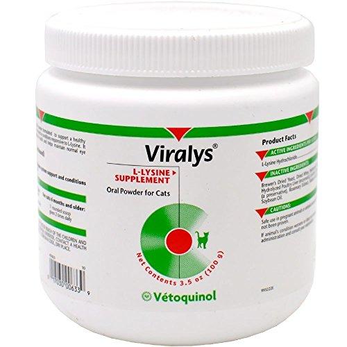 51LQhydPJwL - Vetoquinol Viralys Powder, 100gm