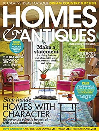Amazon com: Homes & Antiques Magazine: Kindle Store