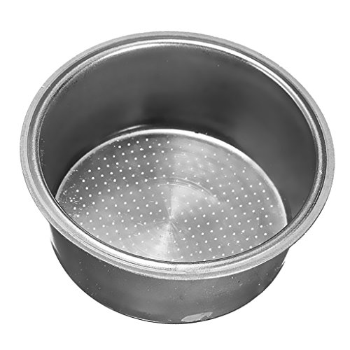 MonkeyJack Stainless Steel Non Pressurized Filter Basket 2 CUP 51mm for Coffee Machine - 51mm