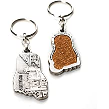Jerusalem Holy Land Soil Embedded In An Authentic Key Ring By The-Story-Within | The Holy Land Soil In Your Hands!| As Seen On TV One Of A Kind Gift