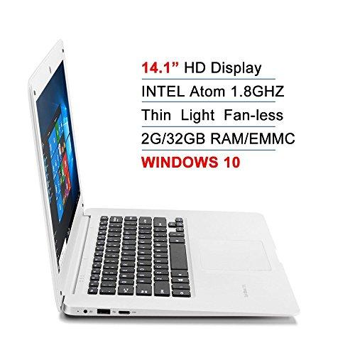 14.1-Inch Intel Atom Quad Core 1.8Ghz 2GB DDR3 32GB EMMC BT4.0 HDMI WINDOWS 10