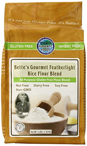 Authentic Foods Bette#039s Featherlight Rice Flour Blend  3lb
