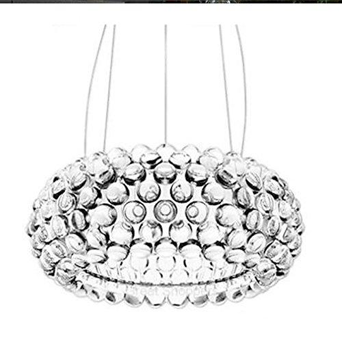 Guorihong SN GRH New Bedroom Caboche Ball Pendant Lamp Light Dia35/50/65CM Ac90-260v lighting fixtures for livingroom bedroom hotel (Size : 50cm/19.68in)