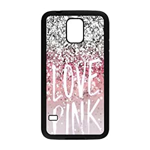 Love Pink Use Your Own Image Phone Case for SamSung Galaxy S5 I9600,customized case cover ygtg567999