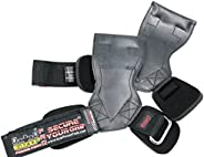 Lifting Grips PRO Weight Gloves Best Heavy Duty Straps Alternative to Power Hooks Deadlifts Adjustable Neopren
