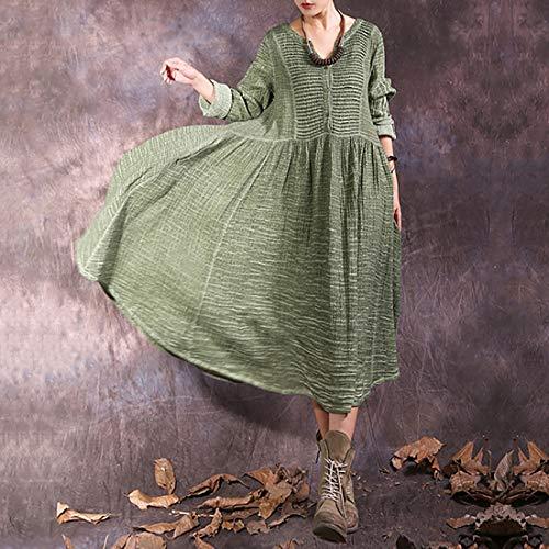 L Green Maniche Size V Vintage E Blue Scollo A Barchetta color Con Yahuyaka Lunghe Bpqq7