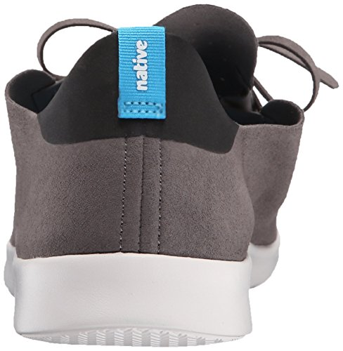 Native Unisex Apollo Moc Mode Sneaker. Dublin Grå / Jiffy Svart / Skal Vit