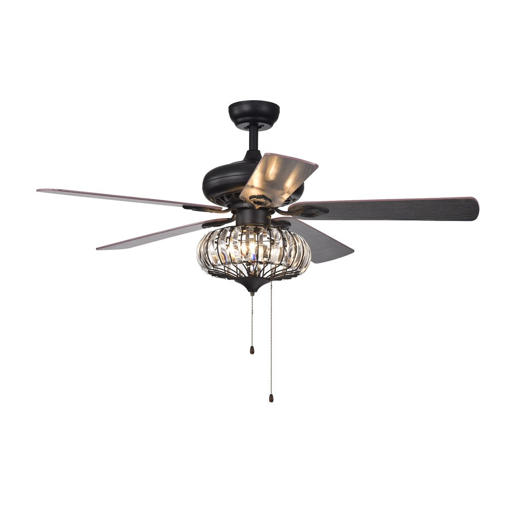 Warehouse of Tiffany CFL-8306 Ceiling Fan, 52