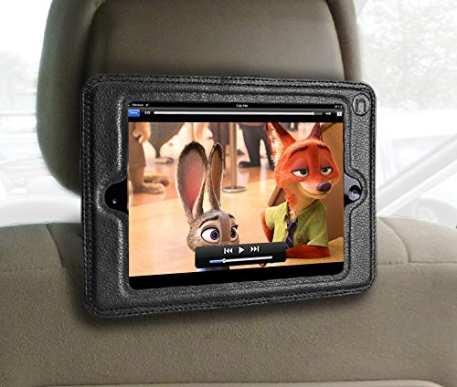 Inndise Headrest Car Fits 4 Keeps Leather
