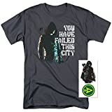 Arrow TV Show You Have Failed This City T Shirt & Exclusive Stickers (Large)