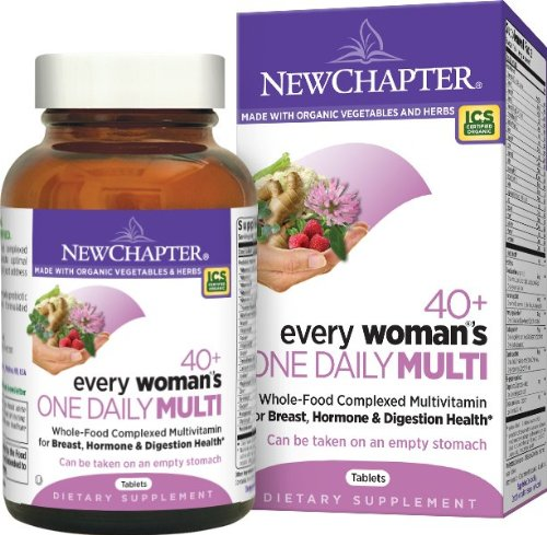 Un quotidien de New Chapter Every Woman 40 + multivitamines, comprimés 72