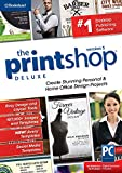 Software : The Print Shop Deluxe 5.0 - Creative Design Suite for home and small business [PC Download]