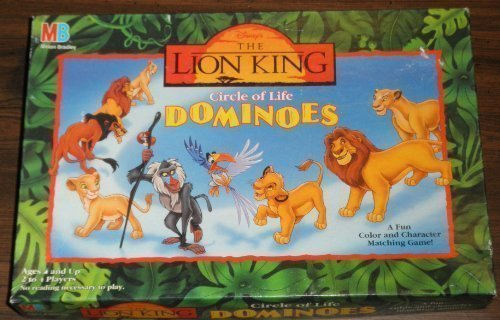 Disney the Lion King Circle of Life Dominoes by Milton Bradley