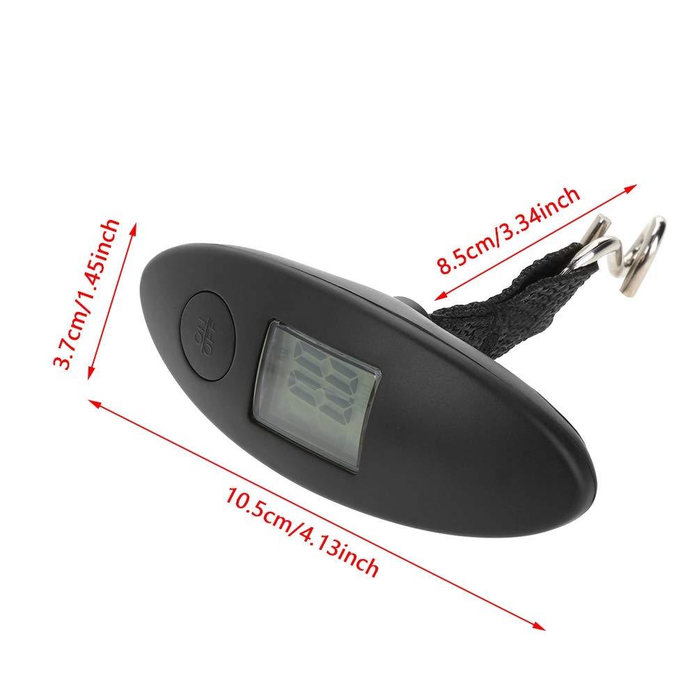 Dewin Escala port/átil Digital de Arco Escala de Mano Colgador de Arco Escala 88 Libras Herramienta para Arco Compuesto y recurvo