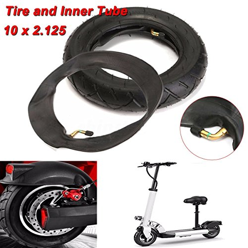 2.125' Tire - 10x Black 2.125'' Rubber Tire&Inner Tube For Self Balancing Electric Scooter