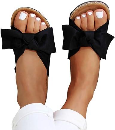 Women Ladies Flat Casual Shoes Flips Flop Summer Slippers Sliders Sandals UK