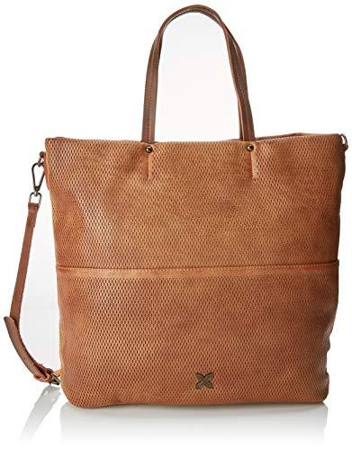 Munich Bucket Walked, Shopper para Mujer, Marrón (Cuero) 36x10x40 cm (W x H x L): Amazon.es: Zapatos y complementos