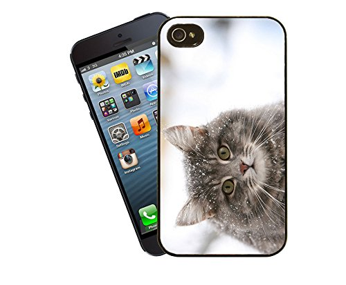 Katze 031 iPhone Fall - passen diese Abdeckung Apple Modell iPhone 4 / 4 s - von Eclipse-Geschenk-Ideen
