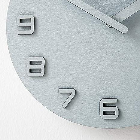 Amazon.com: Large Wall Clock Wall Watch Digital Wall Clock Wall Clock Modern Design Reloj De Pared Decorativo Decorative Yellow 12 inch: Home & Kitchen