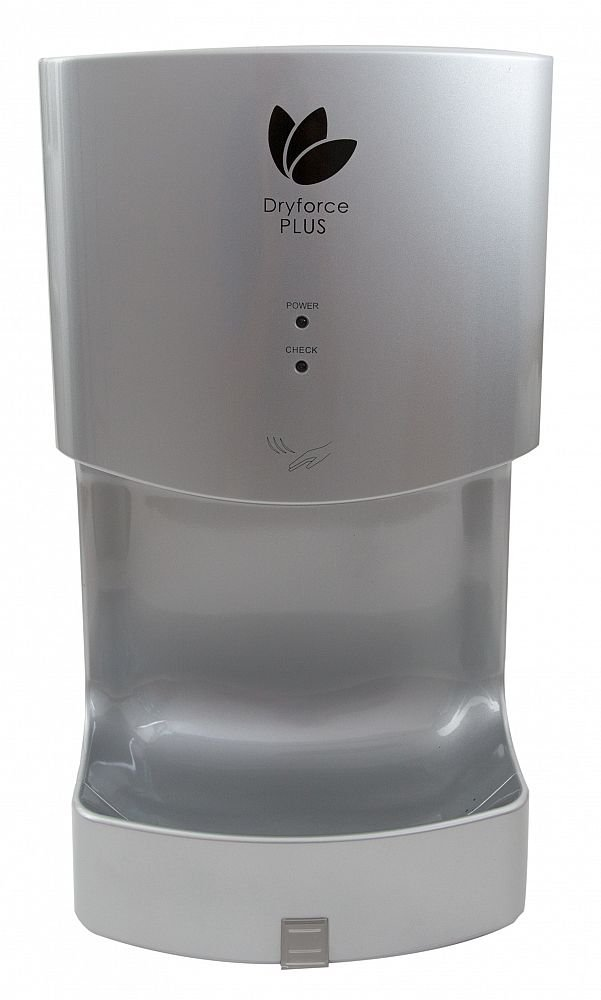 Hand Dryer Blade Style Commercial High Speed Hand Dryer- 3 Year Guarantee (White) Dryflow