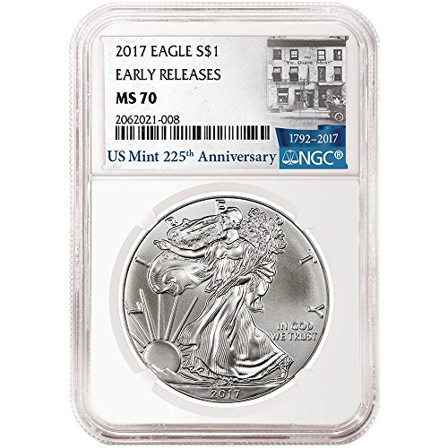 American Silver Eagle 225th Label product image