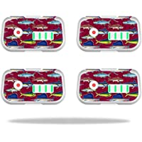 Skin For DJI Phantom 3 Drone Battery (4 pack) – Saltwater Collage | MightySkins Protective, Durable, and Unique Vinyl Decal wrap cover | Easy To Apply, Remove, and Change Styles | Made in the USA