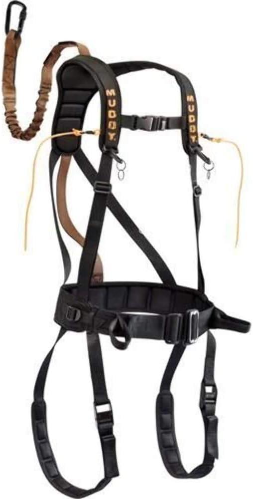 Muddy Safeguard Harness, X-Large, Black
