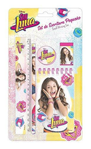 Disney Soy Luna School Supplies Gift SET Small Diario Notepad + Ruler + Pen Original
