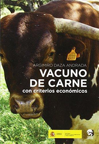 Descargar Libro Vacuno De Carne: Con Criterios Economicos Argimiro Daza Andrada