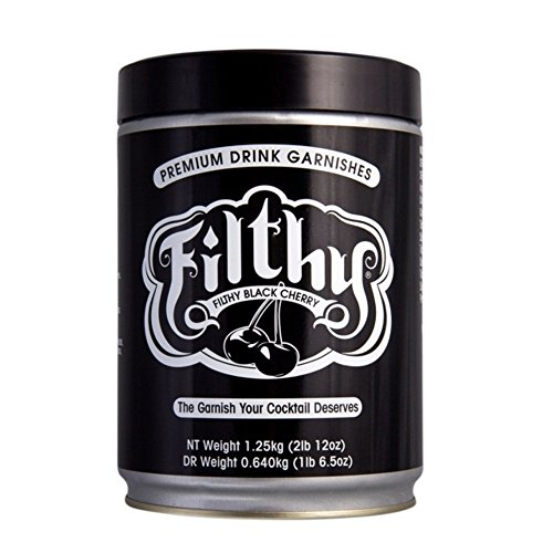 Filthy Black Cherry - Naturally Dark Cherry with a Sweet Front and Tart Finish. - 2.75 lb Resealable Tin