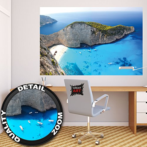 Used, Great Art Beautiful Island Wall Decoration - Paradise for sale  Delivered anywhere in USA