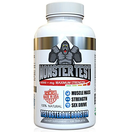 Angry Supplements Monster Test Count