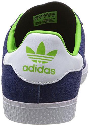 adidas Gazelle 2 J - Zapatillas Unisex adulto blau/weiß/gold