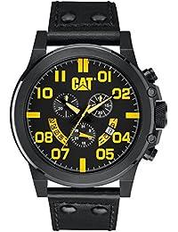 Caterpillar PS.163.34.137 Reloj Análogo de Lujo, para Hombre, amarillo y negro
